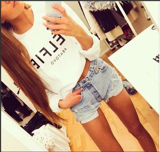 t-shirt white tshirt graphic tshirt celfie tee celfie graphic tee graphic tees shorts