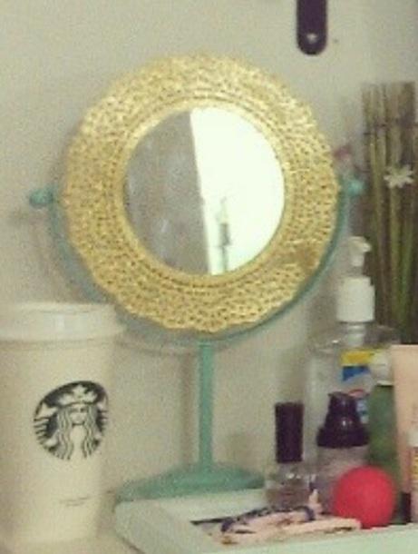 home accessory mirror vanity mirror