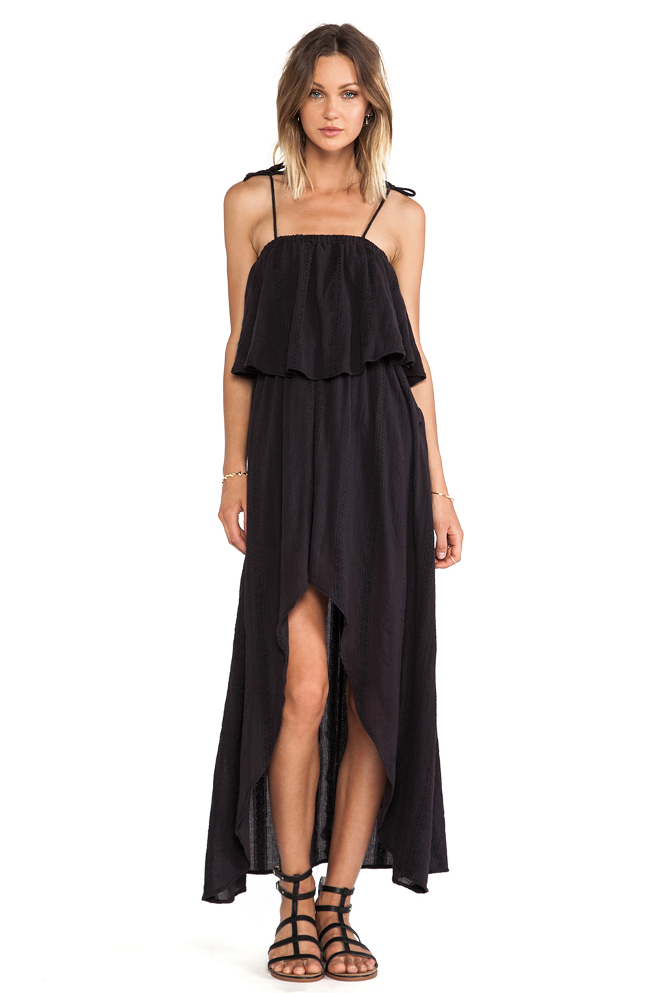 RVCA vestido luck now en Color negro | REVOLVE