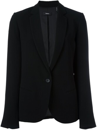 blazer women black jacket