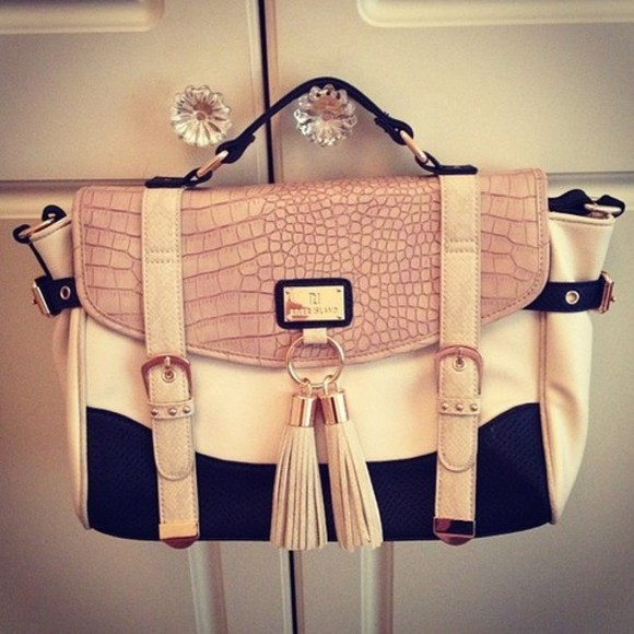 bag satchel creme gorgeous college