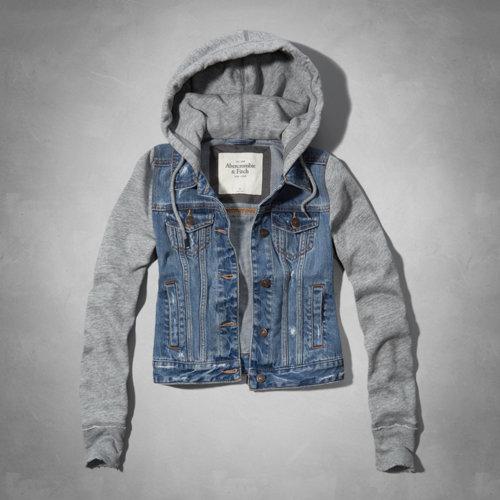 Marisa Denim And Fleece Jacket