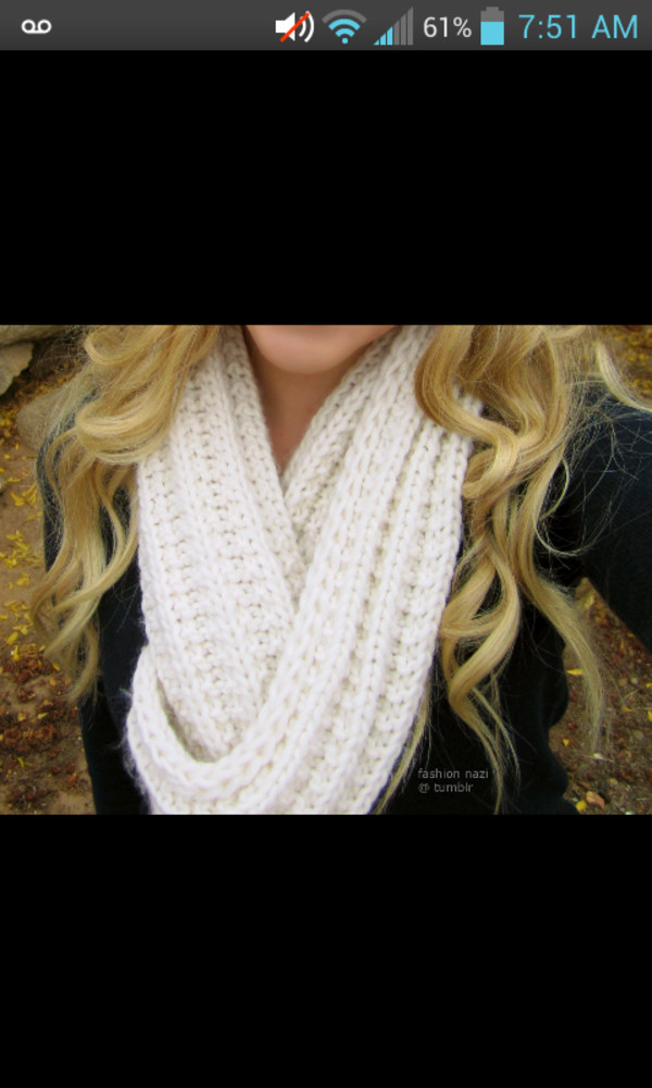 scarf knitted scarf