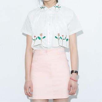 skirt pink summer girly cute spring fashion style boogzel