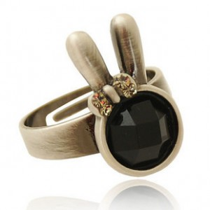 Buy the cute new year's Rabbit Ring,Bunny Ring in 2014 --Zoodey.com