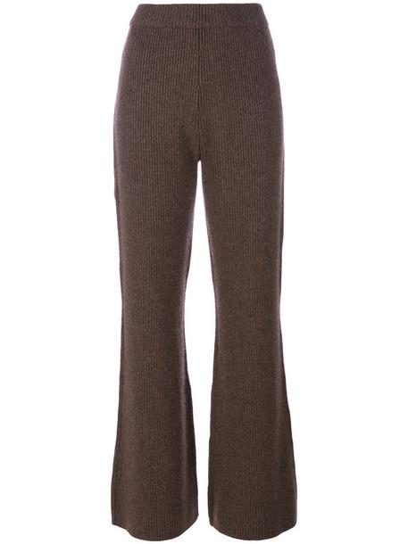 Joseph pants women knit brown