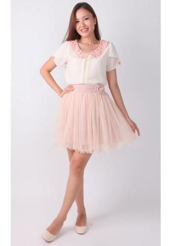 Rose Pink Ballerina Skirt - Cupidko