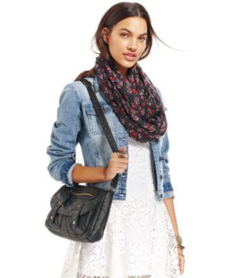 Ellen Tracy Long-Sleeve Denim Moto Jacket - Women - Macy's