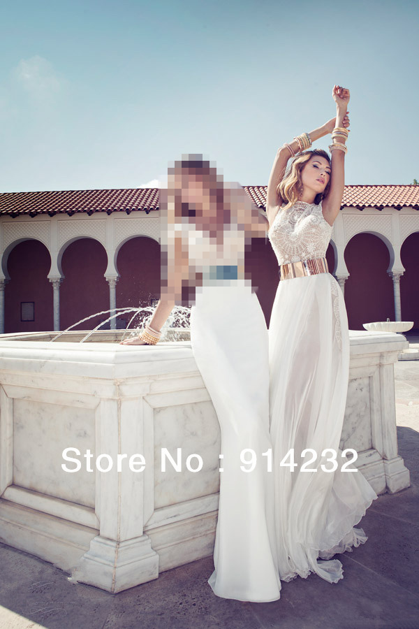 as like the mermaid, Julie Vino beautiful marriage gauze series celebrity dresses lace shoulder White Floor Length custom made-in Celebrity-Inspired Dresses from Apparel & Accessories on Aliexpress.com