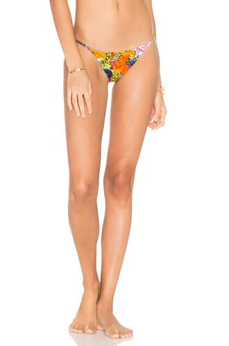 bikini orange swimwear