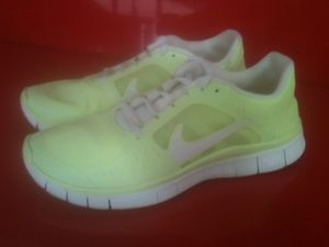 Nike Wmns Free Run 3 Shield Liquid Lime 535857 300 Size 9 Running | eBay