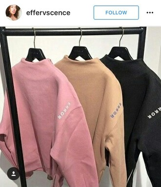 sweater pink crop jumper grey crop jumper grey pink error can't find anywhere error brand found on instagram