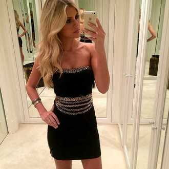 dress lbd little black dress mini dress accessories cute outfit