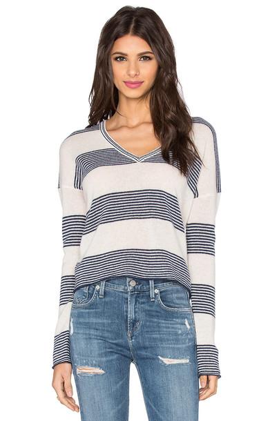 360 Sweater sweater v neck navy