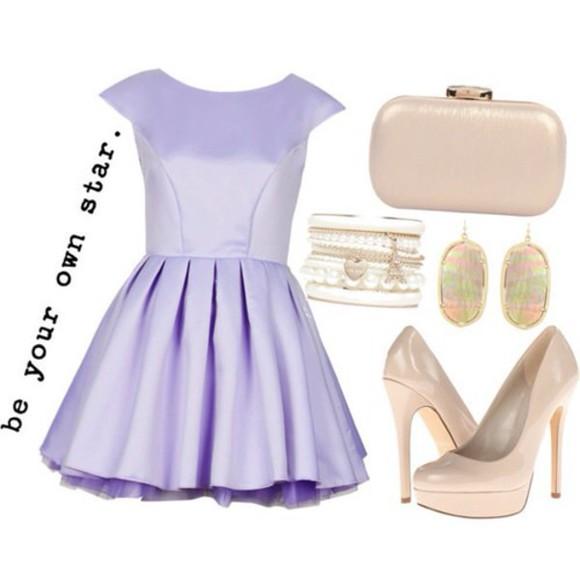 short homecoming dress purple girly