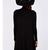 Black Long Sleeve Casual Dress - Sheinside.com