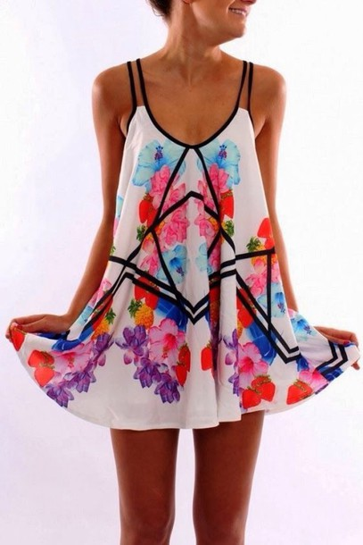 dress summer dress print