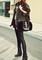 Black sequined leggings