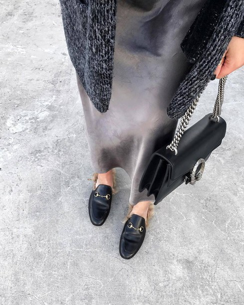 2e6238dc158 bag tumblr gucci gucci shoes gucci princetown loafers black bag gucci bag  dionysus dress grey dress