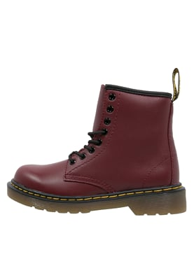 Dr. Martens DELANEY - Lace-up boots - cherry red - Zalando.co.uk