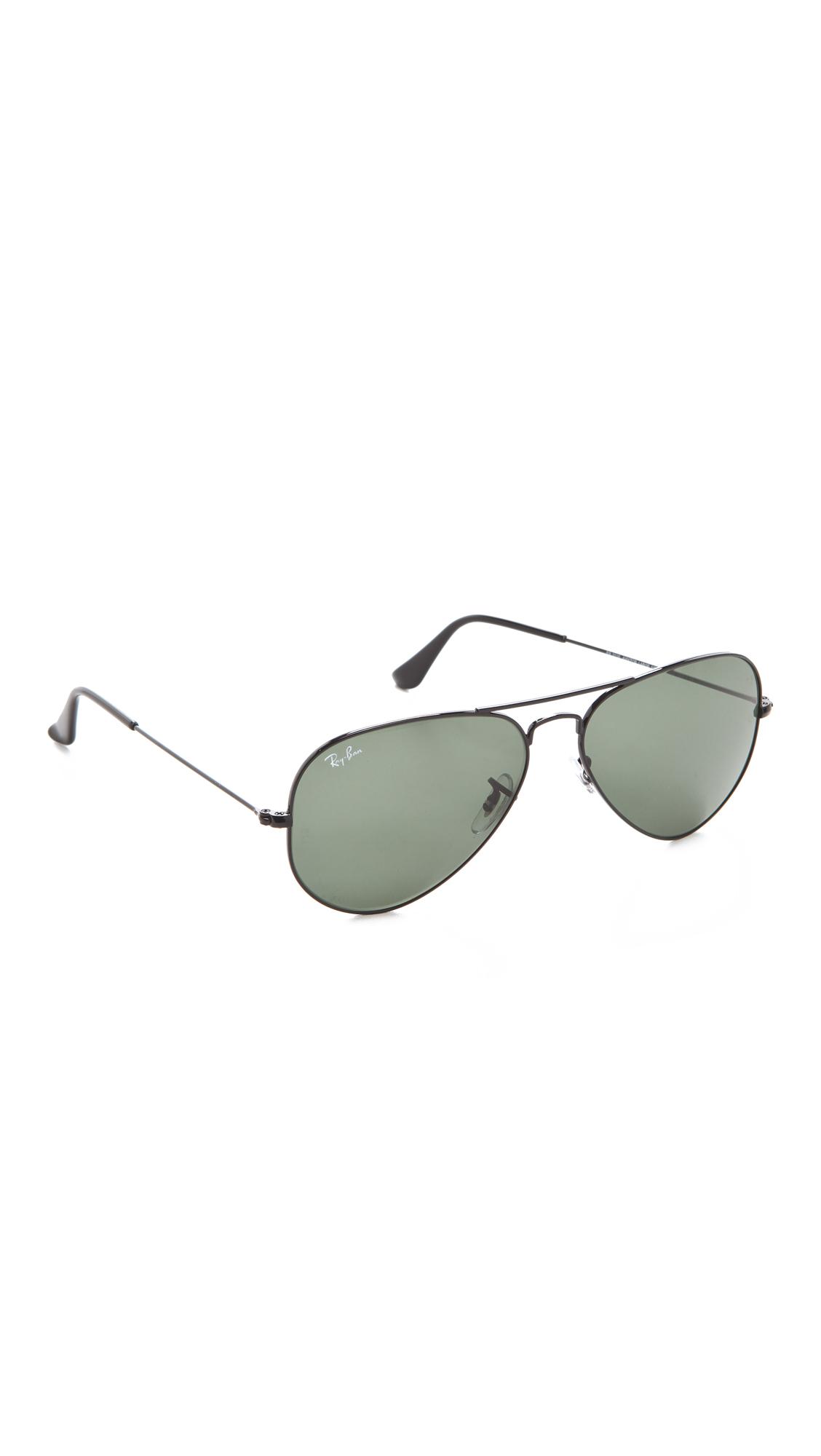 Ray-Ban Солнцезащитные очки-авиаторы | SHOPBOP