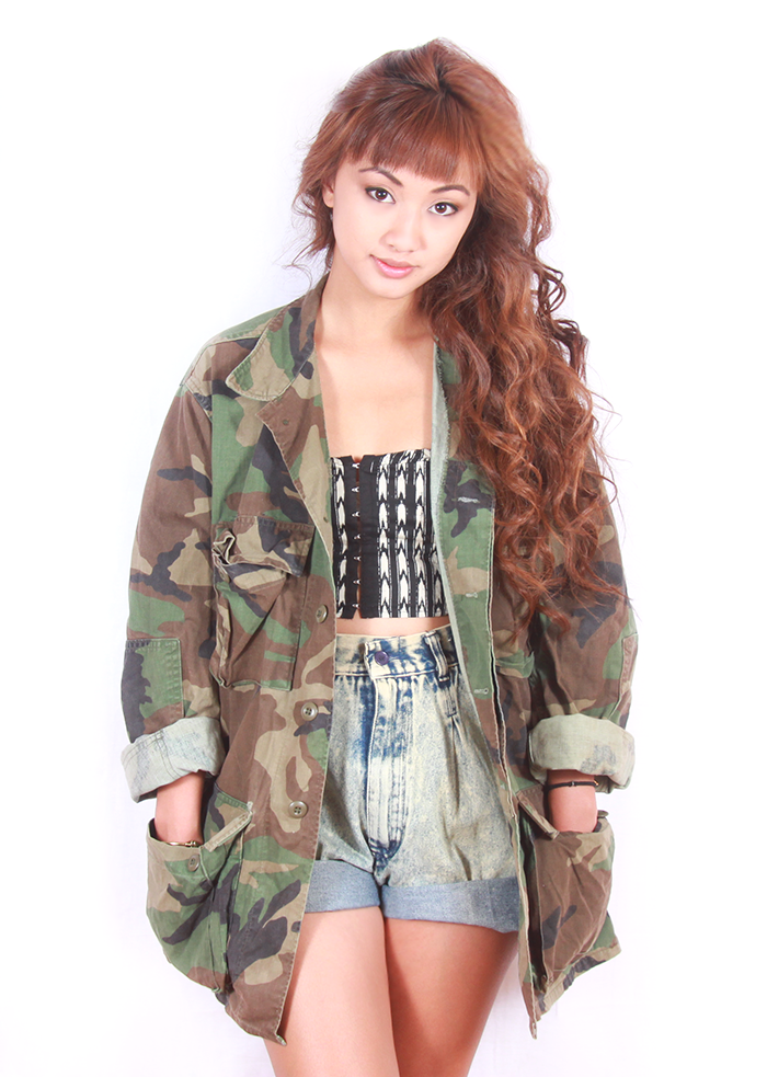 Camo jacket  from vintage love · storenvy