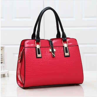 bag red bag fashion women crossbody bag handbag leather bag women shoulder bags clutch ladies fashion fashion bags shoulder bag