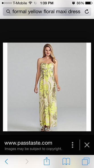 dress yellow dress long dress maxi dress floral dress