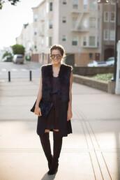 gal meets glam,blogger,jacket,sunglasses,bag,jewels,mirrored sunglasses,faux fur,black