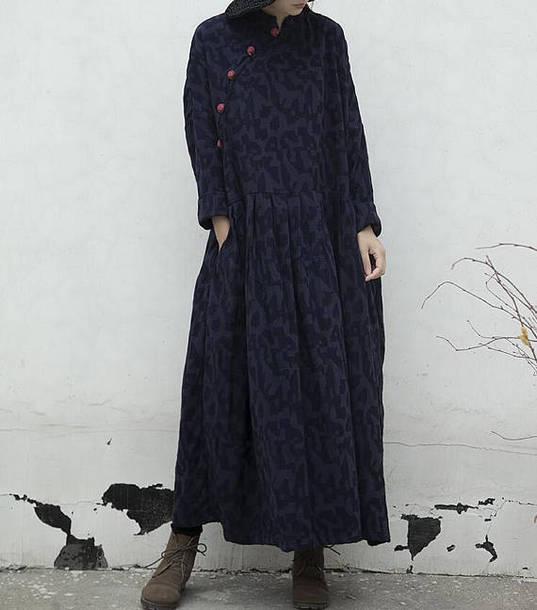 dress maxi dress loose oversize dress