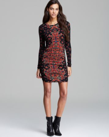 GUESS Dress - Mini Rose Print | Bloomingdale's