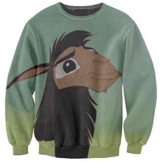 sweater disney sweater disney llama alpaca