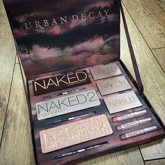 make-up naked naked 2 naked 3 naked badics urban decay urban decay makeup palette perfect gift ideas price eye brown lip gloss lipstick christmas present