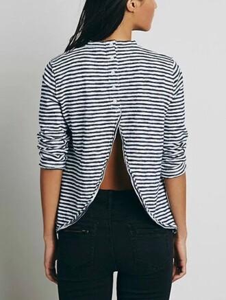 blouse girly girl girly wishlist stripes