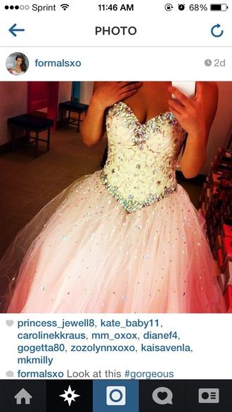 dress ball gown