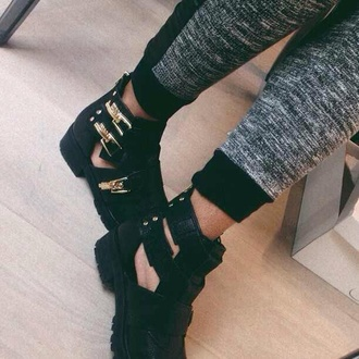 shoes gold boots heel boots chunky heel cute fashion white sneakers sweatpants black joggers joggers pants pants