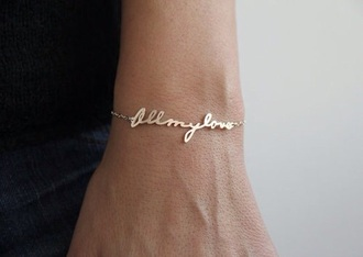 jewels gold jewelry bracelets love valentines day gift idea