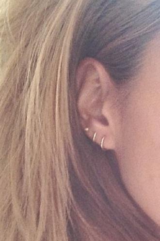 jewels earrings hoop earrings