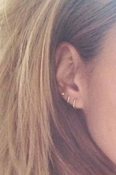 earrings hoops jewels