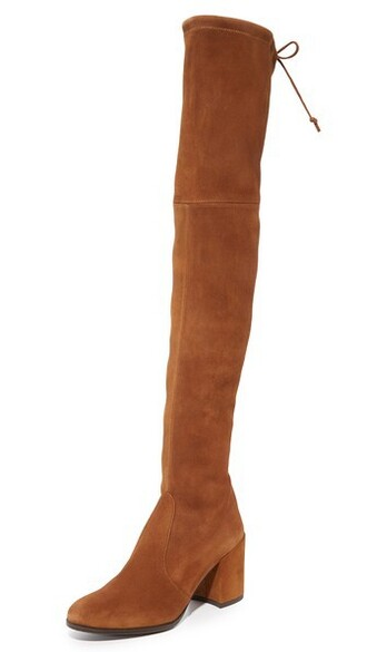 deer over the knee boots shoes