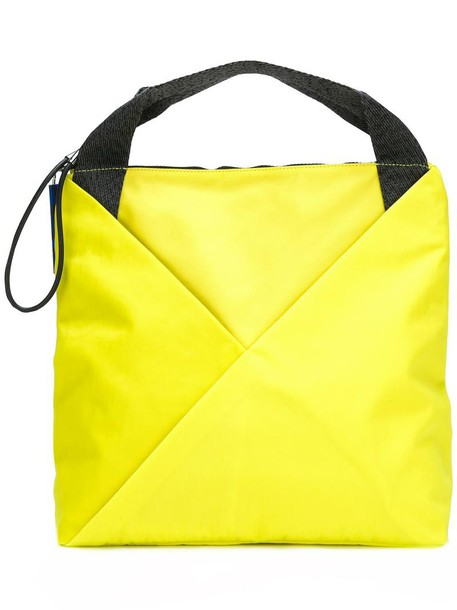 Kenzo women yellow orange bag