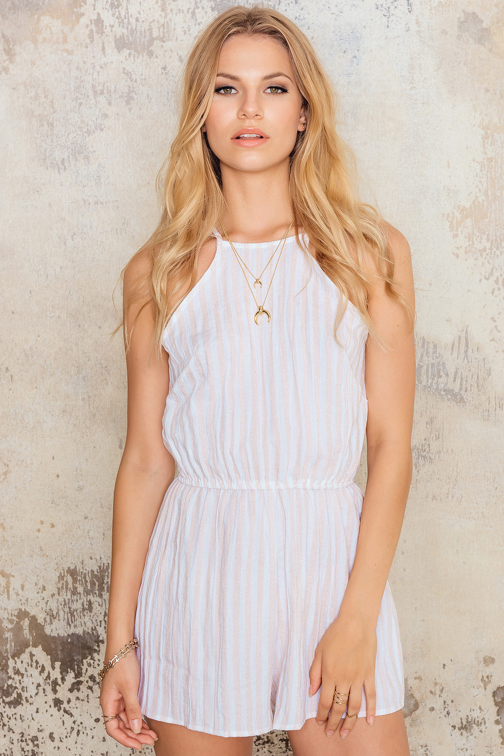 47368cb7ee Stella Sheer Billow Front Romper. Toby Heart Ginger Candy Shop Playsuit