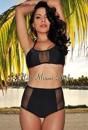 swimwear,two-piece,xs,mesh,black,bikini
