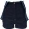 Diesel - high-waisted dungaree shorts - women - cotton/polyester/spandex/elastane - s, blue, cotton/polyester/spandex/elastane