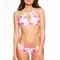 Frankies bikinis koa top - tropical bouquet