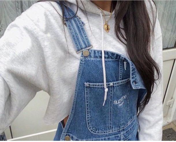 e59c14793314 jumpsuit supreme overalls denim denim overalls tumblr instagram trying to  find!! sweater