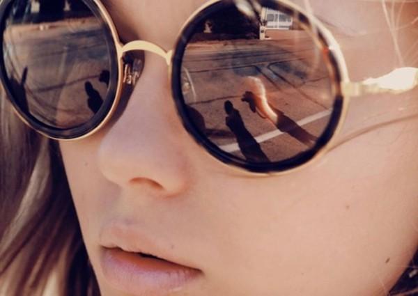 sunglasses summer brunette glasses vintage