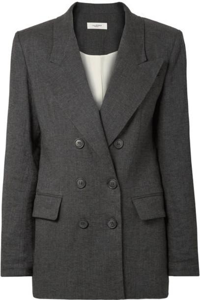 Isabel Marant etoile blazer charcoal jacket