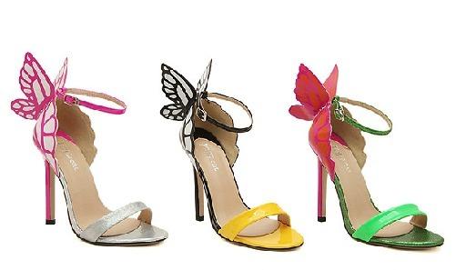 Magnifique palette — butterfly pumps.