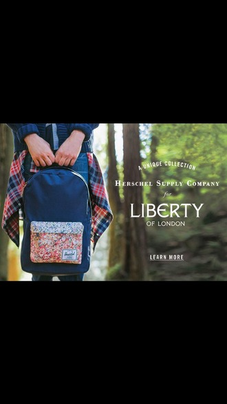 bag herschel supply co. backpack liberty of london liberty